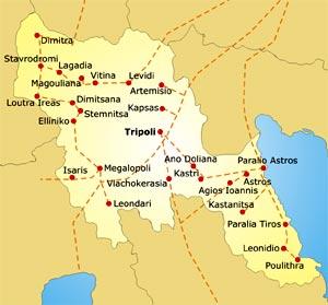 Map Arcadia