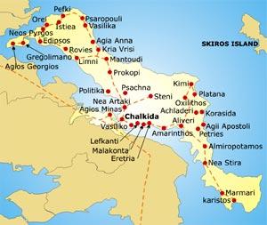 Top 5 Evia, des destinations de rêve en bord de mer en Grèce