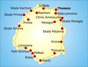 THASOS hotels Thasos rooms to let apartments accommodation