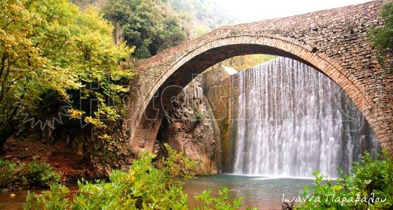 Πέτρινο γεφύρι Παλαιοκαρυάς