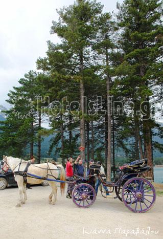 Βόλτα με άμαξα στη Λίμνη Δόξα...