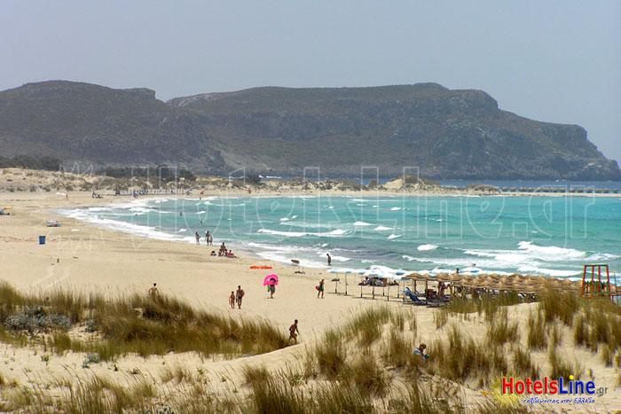 Παραλία του Σίμου στην πλευρά του όρμου Σαρακίνικο