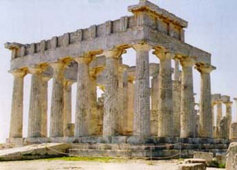 Αίγινα, Ναός Αφαίας Αθηνάς