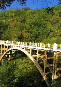 Πάρνωνας. Γεφύρι στο Μεσσοράχι
