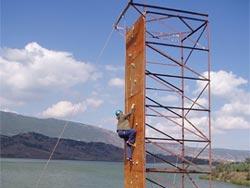 Ορειβασία, μία από τις δραστηριότητες της περιοχής