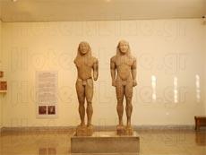 Δελφοί, εξωτερική άποψη του αρχαιολογικού μουσείου Δελφών