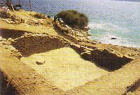 Τμήμα αρχαίου σπιτιού