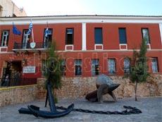 Ναυτικό Μουσείο Κρήτης. Εξωτερική άποψη