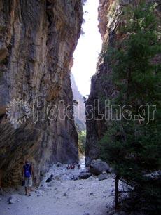 Εθνικός Δρυμός Σαμαριάς. Θέση πόρτες