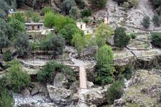 Εθνικός Δρυμός Σαμαριάς. Παλιός οικισμός Σαμαριάς