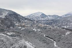 Η Ανδρίτσαινα χιονισμένη
