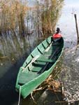 Epirus, Ioannina, a traditional boat
