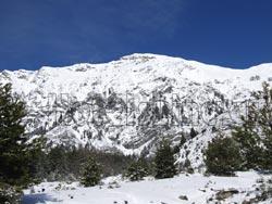 Πληκάτι, χιονισμένο τοπίο