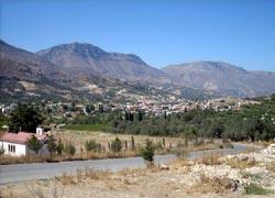 Πανοραμική άποψη των Ανω Ασιτών Ηρακλείου Κρήτης