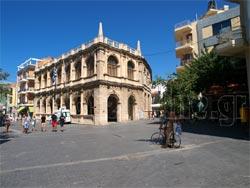 Heraklion, Crete. Phototgraph from the historic center