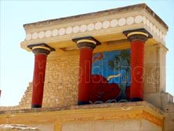 Heraklion, Crete. The Palace of Knossos