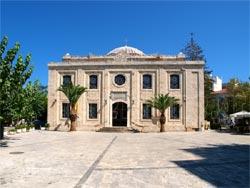 Heraklion, Crete. The Church of Saint Titus