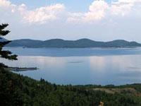 Θεσσαλία, νομός Καρδίτσας, άποψη της λίμνης Πλαστήρα