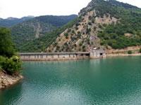 Θεσσαλία, νομός Καρδίτσας, το φράγμα της λίμνης Πλαστήρα (Ταυρωπού)
