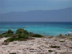 Ελαφόνησος. Παραλία Λεύκη