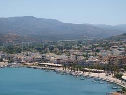 Σητεία Κρήτης, Πανοραμική άποψη