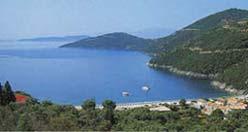 The beautiful beach of Mikros Gialos