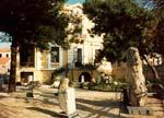 Λέσβος, Αρχαιολογικό Μουσείο, το παλαιό κτίριο