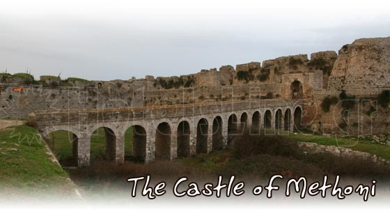 The Castle of Methoni in Messinia, Peloponesse