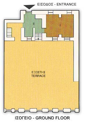 Σχέδιο του ισογείου