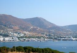 Paros. Panoramic View of Parikia