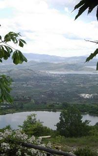 Η πανοραμική θέα από την Παναγίτσα