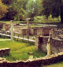 Πιερία, αρχαιολογικοί χώροι