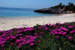 Παραλίες στα Σύβοτα Θεσπρωτίας. Μέγα Αμμος