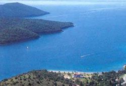 Παραλίες στα Σύβοτα Θεσπρωτίας. Γαλλικός Μώλος