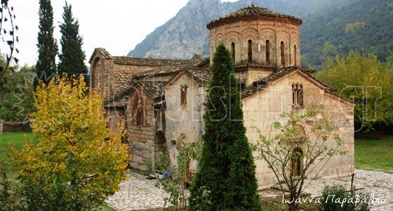 Βυζαντινός Ναός Πόρτα Παναγιάς