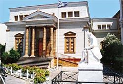 Βιβλιοθήκη Κοραή και Λαογραφική Συλλογή Φιλ. Αργέντη στη Χίο