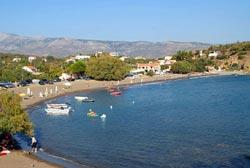 Βoλισσός Χίου. Παραλία Λήμνος