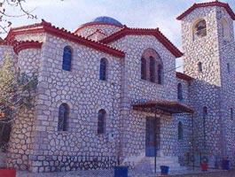 Φθιώτιδα, Τόποι Λατρείας Ιερά μονή Παναγίας Ελεούσης Ξυνιάδος