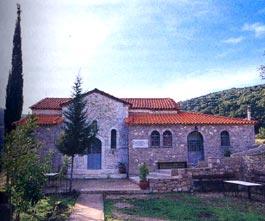 Φθιώτιδα, Τόποι Λατρείας Ιερά μονή Αγίου Νικολάου Δίβρης