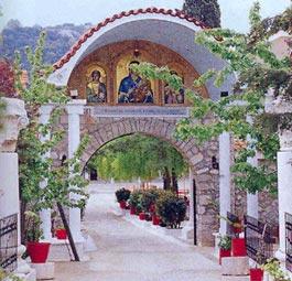 Φθιώτιδα, Τόποι Λατρείας Ιερά μονή Παναγίας Αντίνιτσας