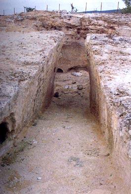 Φθιώτιδα, Ελάτεια, Αλωνάκι Δρόμος και είσοδος θαλαμωτού τάφου μυκηναϊκών χρόνων.