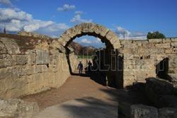 Ο Αρχαιολογικός χώρος της Ολυμπίας