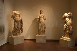 Εκθέματα από το αρχαιολογικό μουσείο της Ολυμπίας