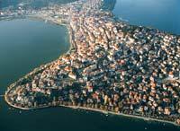 Η πόλη της Καστοριάς από ψηλά