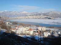 Η Καστοριά χιονισμένη