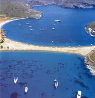 Cyclades, Kithnos, Kolona